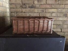 3 X storage baskets
