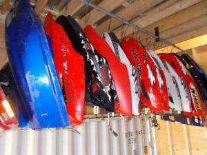 Snowmobile Hoods