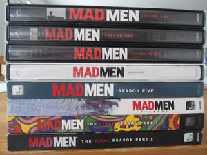 Mad Men All Seasons DVD
