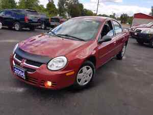 2004 dodge neon only 87 k 5 speed certified  etested