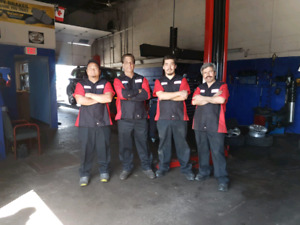 SAFETY Inspection/Oil changes/Brakes/Exhaust work/Body work