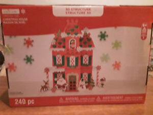 Foam craft christmas house kit new in box