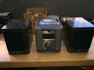 JVC mini bookshelf stereo