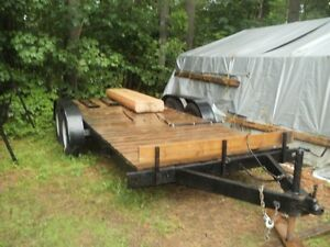 17 foot flatbed trailer