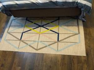 Ikea rug with non slip layer