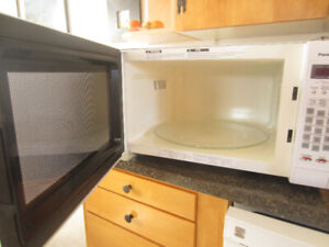 Full-size microwave fits a 9X13 baking pan!!