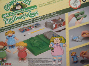 Vintage Cabbage Patch Kid Clay Mold