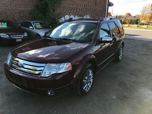 2008 FORD TAURUS X LIMITED DVD FULLY LOADED 7 SEATER