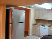 Clean 2 BR Bsmt. apartment, renovated, close to GO