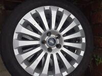Ford 17 inch 15 spoke alloys x2