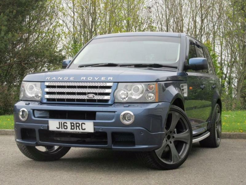 2005 land rover range rover sport 4 2 v8 supercharged suv. Black Bedroom Furniture Sets. Home Design Ideas