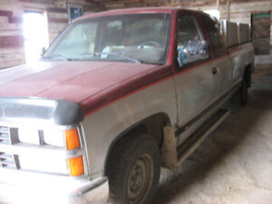 Camion  (Pick-Up) Chevrolet 1988 Cheyenne