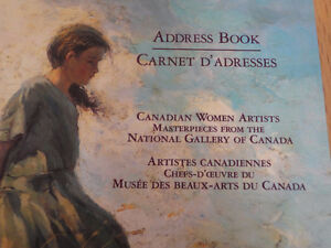 Brand new Canadian Women Artists address book London Ontario image 2