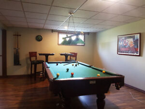 Table de billards PALASON 4x8 pied.