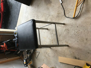 Two bar stools in good condition.