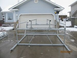 CUSTOM NEW CANTILEVER PONTOON, BOAT AND WAKEBOARD BOAT LIFTS Edmonton Edmonton Area image 8