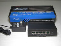 Rosewill RFS-105 5 port 10/100Mbps Fast Ethernet Port Switch