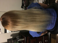Hair extentions micro link fusion and tape in installation FREE