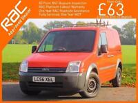 2006 Ford Transit Connect 1.8 TDCI T200 5 Speed Panel Van SWB Just 2 Owners Only