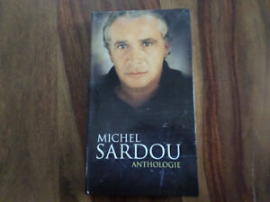 4 CD de Michel Sardou anthologie