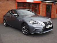 2013 63 LEXUS IS 300H 300H F SPORT AUTO 2.5 4D