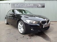 BMW 3 SERIES 318d M SPORT (black) 2013