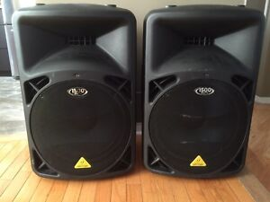 Eurolive B615 powered speakers