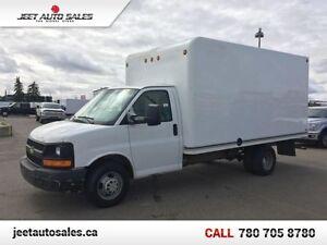 2010 Chevrolet Express Commercial Cutaway Cube Van