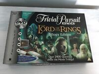The Lord of the Rings Trivial Pursuit DVD