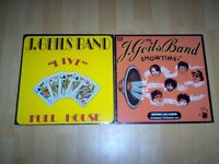 lps by J. Geils Band