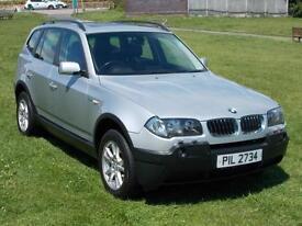 2005 (55) BMW X3 2.5i SE Automatic