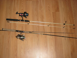 2 Spinning-Rods