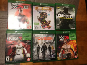 Selling 12 Xbox one games