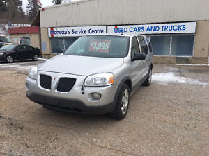 LOAD UP THE FAMILY! 2008 Pontiac Montana SV6 Extended!