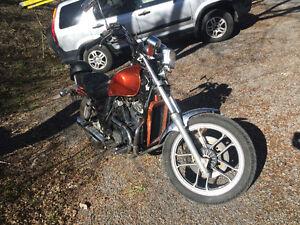 500cc Honda Shadow