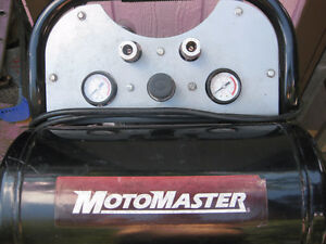 MOTOR MASTER DUAL TANK PORTABLE 110 VOLT- LIKE NEW COND.
