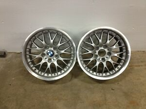 BMW FACTORY RS740 WHEELS ( NEVER USED ) Kitchener / Waterloo Kitchener Area image 1
