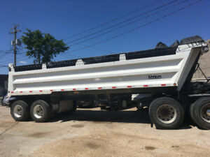 2015 Loadline End Dump Trailer