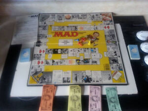 "Vintage ""MAD Magazine"" Board Game"