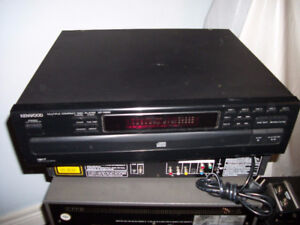 KENWOOD Multiple Disc / CD Player Made in Japan