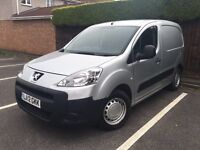 2012 Peugeot Partner Van - low miles only 42k - berlingo van - FULL HISTORY