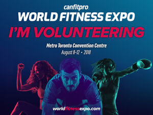 World Fitness Expo - Volunteers Wanted!