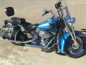 Low km Harley Davidson Heritage Softail for sale