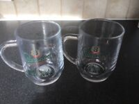 20 Pint glass tankards Staropramen
