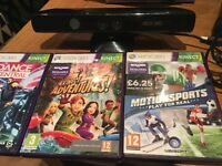 Kinect and 5 games NEED GONE