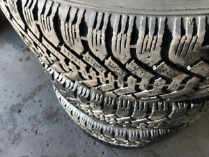 Goodyeay winter tires 17 inch for sale !!