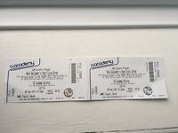 **Noel Gallagher's High Flying Birds x2 Stand Stalls tickets O2 Brixton London**