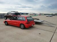 1991 Honda Civic pour lapping drag course
