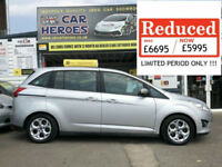 2011 FORD GRAND C-MAX 1.6 TDCi 7 SEATER ( AA ) WARRANTY PACKAGE INCLUDED