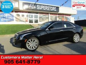 2013 Cadillac ATS LUXURY  NAV ROOF BOSE CUE CAM HTD-S/W HS PARK-